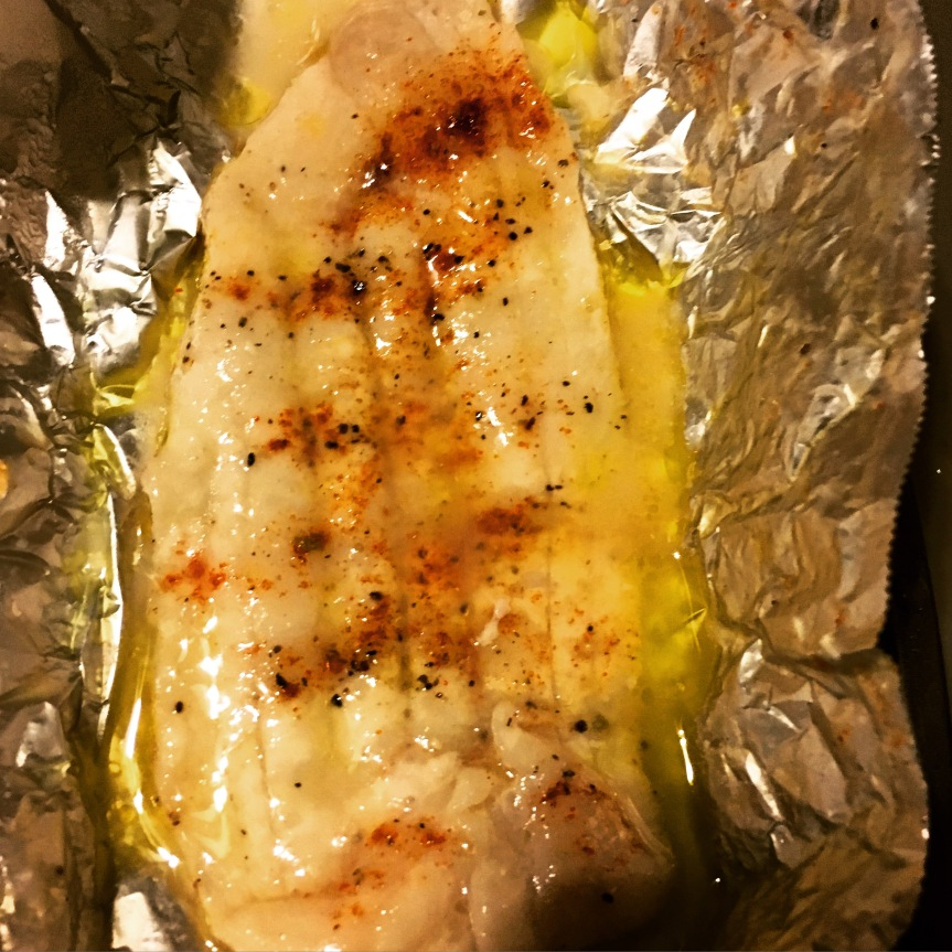Oven Baked Sole
